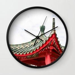 Chinatown Chicago #3 Wall Clock