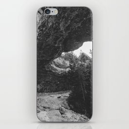 Bruce Peninsula Overhanging Point iPhone Skin