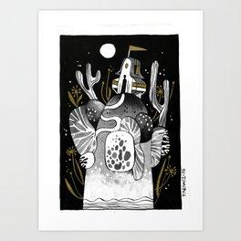 LA FORGE Art Print