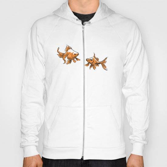 Brushed Goldfish Hoody