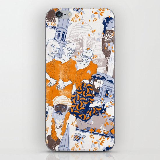 THE SACRED CITY iPhone Skin
