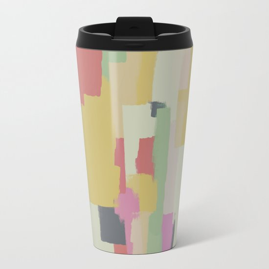 Abstract Painting No. 1 Metal Travel Mug