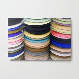 Felt Hats Metal Print