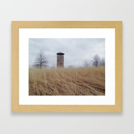 All along the watch tower. Framed Art Print