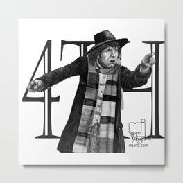 4th Doctor Metal Print