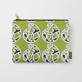 MAD HUE AOTEAROA Green Carry-All Pouch