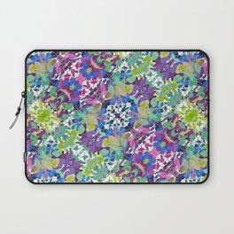Colorful Modern Floral Print Laptop Sleeve