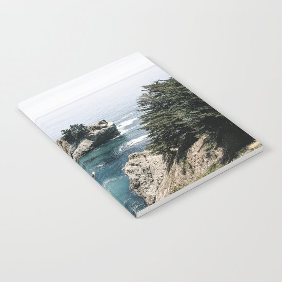 Mcway Falls Faded Notebook