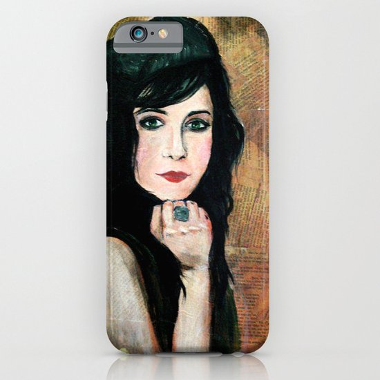 Green Lady iPhone & iPod Case