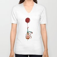 tangled V-neck T-shirts featuring Tangled by Amarie