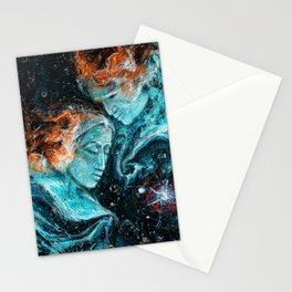 Across the Space Stationery Cards