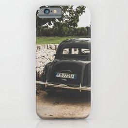 Citroën traction avant, Apulia photography, vintage car, old cars, sports car, Puglia photography iPhone Case