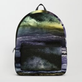 Lavender Waves Backpack