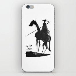 Pablo Picasso, El Picador (Toros y Toreros) 1959 Artwork iPhone Skin