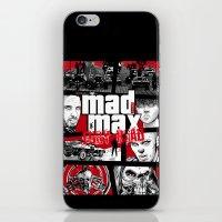 gta iPhone & iPod Skins featuring Mashup GTA Mad Max Fury Road by Akyanyme