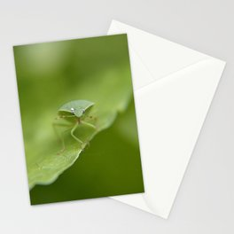 Green..... Stationery Cards