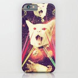 galactic Cats Saga 4 iPhone Case