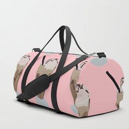 Milkshake pink Duffle Bag
