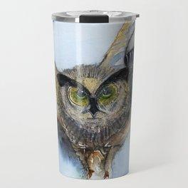 Olive Owl Travel Mug