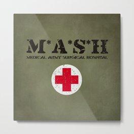 MASH Metal Print