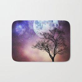 Moon and Tree Bath Mat