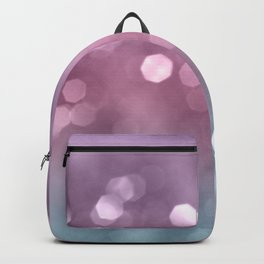 Unicorn Colored Bokeh #1 #pastel #shiny #decor #art Backpack