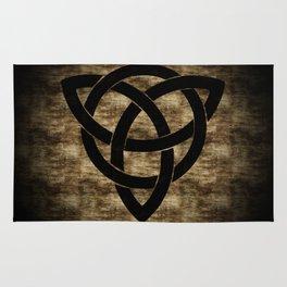 Wooden Celtic Knot Rug