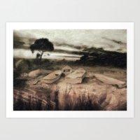 moss Art Prints featuring Moss by Taylan Soyturk