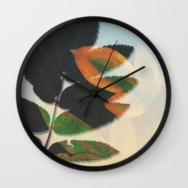Don't Blend In Wall Clock