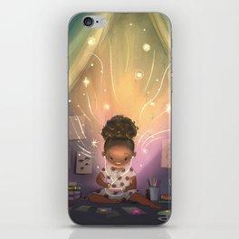 Creative Space iPhone Skin