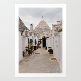 In a trullo state of mind Art Print