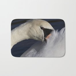 The Shy Swan Bath Mat