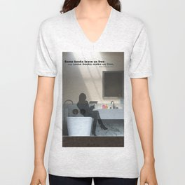 Some books Unisex V-Neck