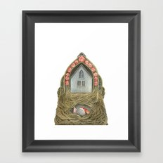 Sweet Home II // Polanshek Framed Art Print