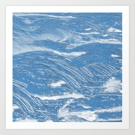 clear sea Art Print