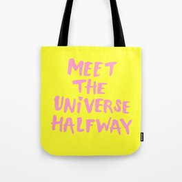 Meet The Universe Halfway Tote Bag