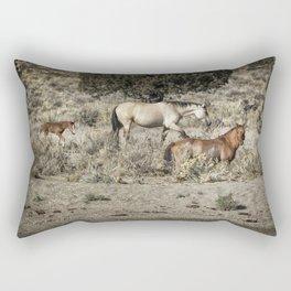Safeguard This Tiny Foal Rectangular Pillow