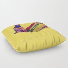 Chicago Dog Floor Pillow