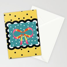 Sunny Yellow and Black Gift Stationery Cards
