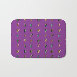 Origami A (purple) Bath Mat