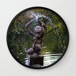 Fountain Wall Clock