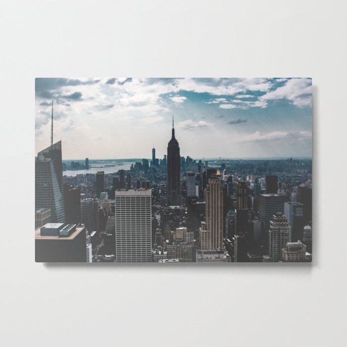 New York 06 Metal Print