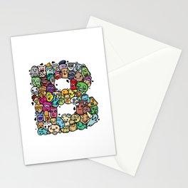 Alphabet B. The alphabet series Stationery Cards