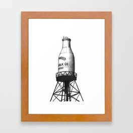 Montreal's Guaranteed Milk Co Limited Framed Art Print