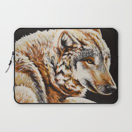 Gray Wolf Laptop Sleeve