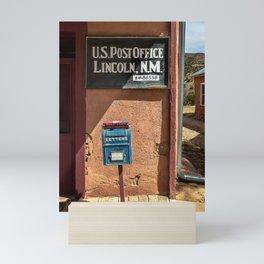 Post Office Lincoln NM Mini Art Print