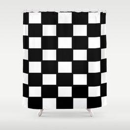 Race flag Shower Curtain