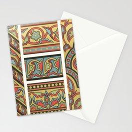 vintage artistic pattern Stationery Cards