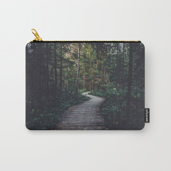 Path Unknown Carry-All Pouch