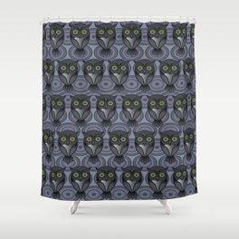 Owling Shower Curtain